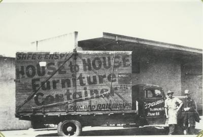 T. Parsons Removal Van