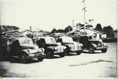 Vazeys Four Trucks