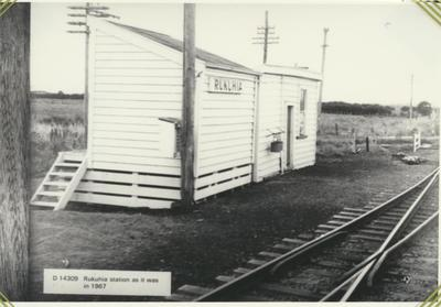 Rukuhia Railway Station