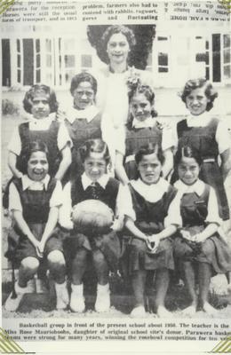 Parawera School Basketball Group