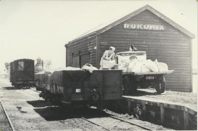 Rukuhia Railway Goods Shed