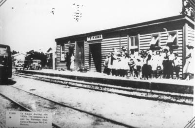 Te Kawa Railway Station