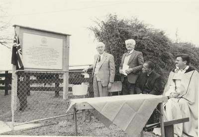 H.P.T. Plaque Unveiling