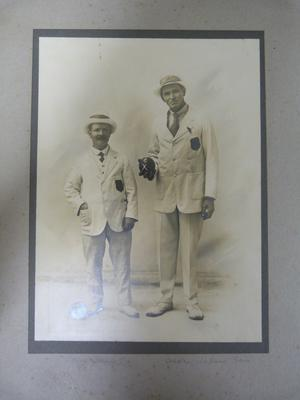 Photograph of Jack Fletcher and Andrew Wallace