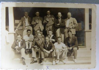 Photograph with Te Awamutu Gold Club Members
