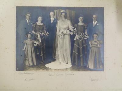 Garland Wedding Photograph