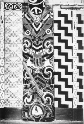 Maniapoto Carving