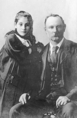 John W. Ellis and May Ellis