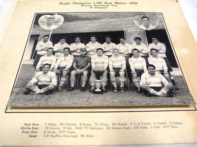 Rugby Champions 1 NZ Regiment
