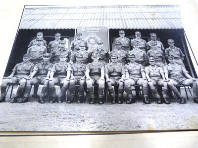 B Company in Malaya