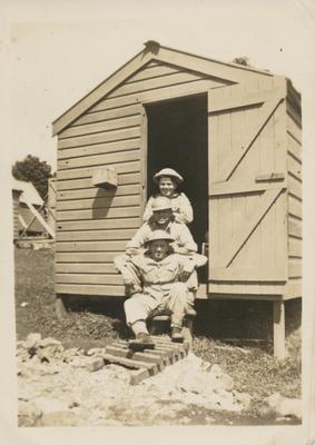 Three Military men