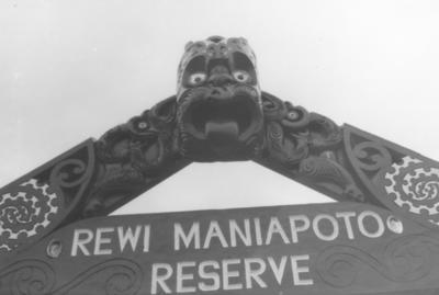 Rewi Maniapoto Reserve