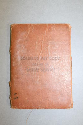 Soldier's Paybook with Inserts