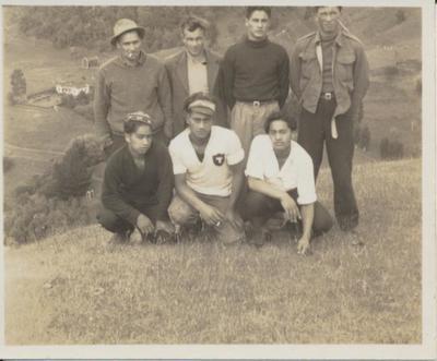 Group of Maori Men