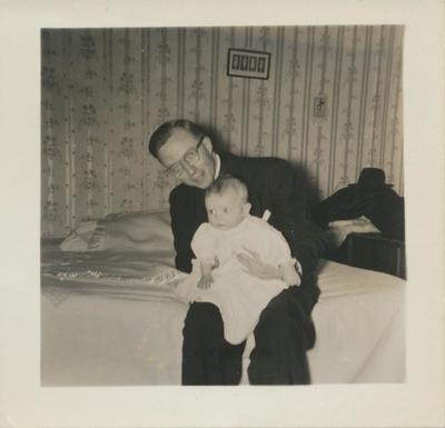Man and a Baby