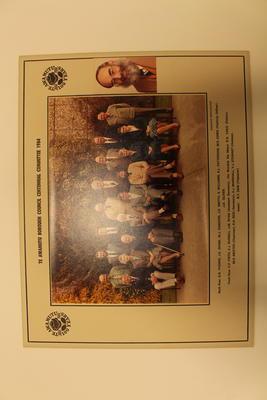 Photograph of Te Awammutu Centennial Committee