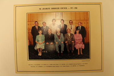 Photograph of Te Awammutu Councillors