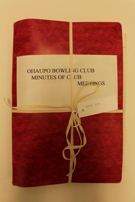 Ohaupo Bowling Club Minutes