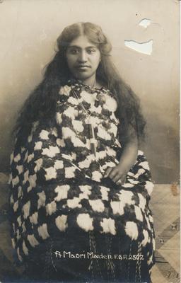 A Maori Maiden