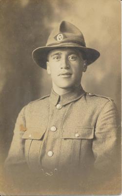 Maori Soldier