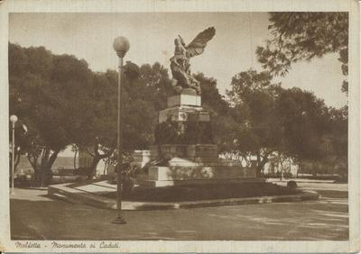 Molfetta- Monumento oi Caduti