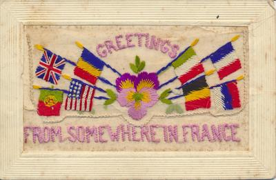 """Greetings From Somewhere in France"""
