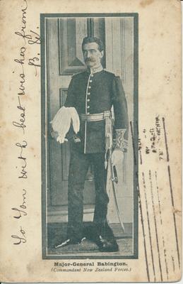 """""""Major-General Bubington (Commandant New Zealand Forces)"""""""