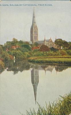 Salisbury Cathedral, from River