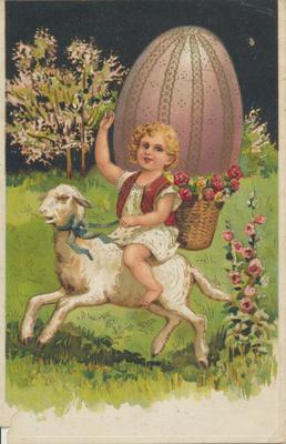 Easter Card- Cartoon