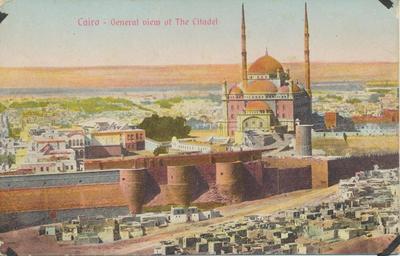 Cairo-General View of Citadel