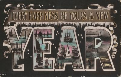 """Every Happiness Be Yours in the New Year"""