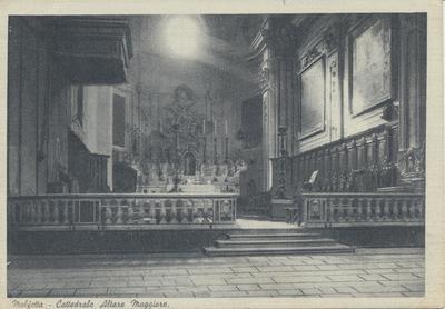 Molfetta- Cattedrale Altare Maggiore