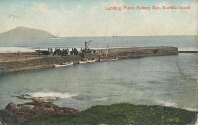 Landing Place, Sydney Bay, Norfolk Island