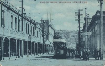 Manners Street, Wellington