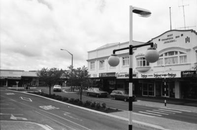 Buildings on Alexandara Street