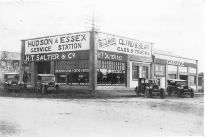 Hudson and Essex Service Station