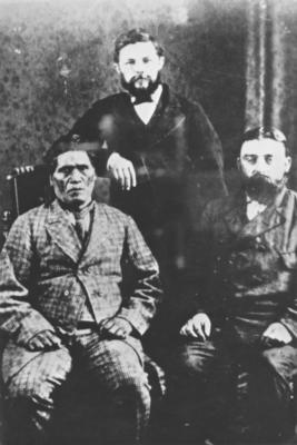Rewi Maniapoto and Hon. John Sheehan