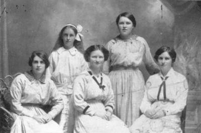 Group of five Women