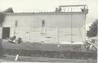 Demolition of Old Masonic Lodgerooms