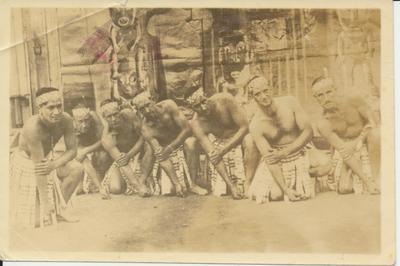 Seven Maori Men