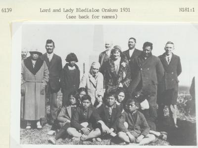 Lord and Lady Bledisloe at Orakau