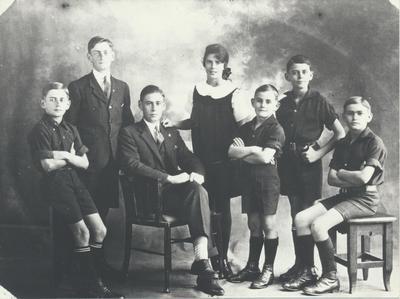 Family of Herbert Mandeno