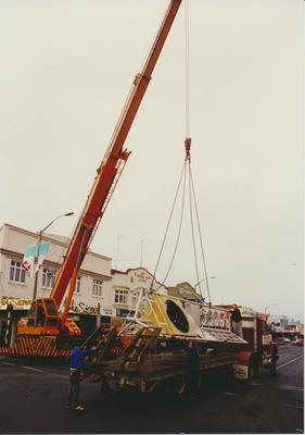 Removal of Te Awamutu Town Clock