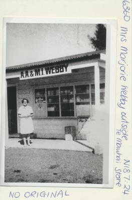 Mrs Marjorie Webby