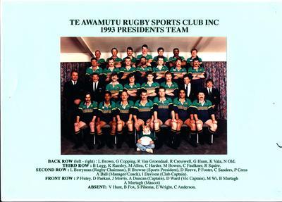Te Awamutu Rugby Sports Club