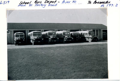 School Bus Depot