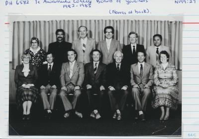 Te Awamutu College Board of Governors