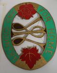 Wooden Hanging Emblem