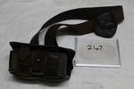 Ammunition pouch and belt