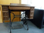 Sewing machine & sewing table